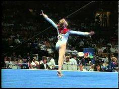 Katie Teft - Floor Exercise - 1996 Olympic Trials - Women - Day 2