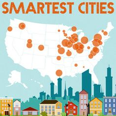 The Smartest Cities in America {Infographic} Web Design Services, Seo Services, Denmark Immigration, Dissertation Writing Services, Mark Smith, Best Seo Company, City College, Smart City, Pictures Of The Week