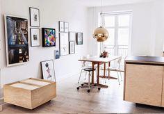 Minimalismo de um Apartamento Decorado na Dinamarca