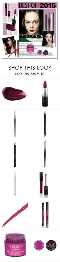 """""""Prugna."""" by living-on-the-catwalk ❤ liked on Polyvore featuring beauty, Hourglass Cosmetics, MAC Cosmetics, MAKE UP FOR EVER, Bare Escentuals, Christian Dior, Charlotte Tilbury, michael marcus cosmetics, Gucci and Maybelline"""