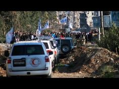 Scenes From a U.N. Convoy Under Attack in Syria   The Foreign Bureau