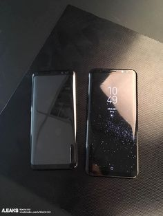 New leaked pictures show off Galaxy S8 and S8+ side by side - The Verge