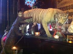 Les Trois Garcons - awesome restaurant with an equally awesome tasting menu. Oh, and the decor is pretty special, too.