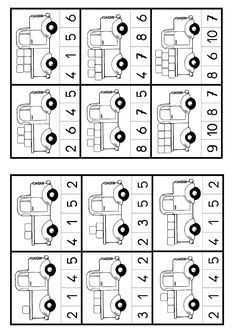 Kindergarten Numbers to 20 Worksheet Pack Senses Preschool, Preschool Math, Numbers Kindergarten, Numbers Preschool, Kindergarten Math Worksheets, Preschool Activities, Math For Kids, Kids Education, Teaching Kids