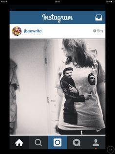 James Franco Limited Edition Selfie Shirt. designed by James Franco.
