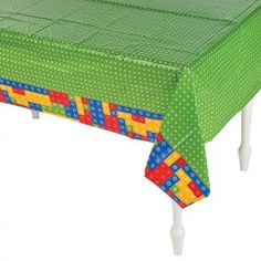 Color Brick Tablecovers - 54in x 108in (Each)