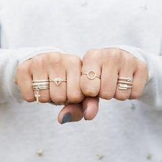 Zilver & Zoet sterling silver rings