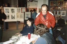 H.U. 1° edizione Tre giorni di comunic-azione e diffusione di culture alternative. 1-2-3 ottobre 1993 C.so Garibaldi, Milano Foto di El Vandalo