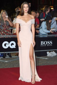 September 6, 2016 - Bella Hadid in Jason Wu for Boss at 2016 GQ Men of the Year Awards in London, UK - HarpersBAZAAR.com