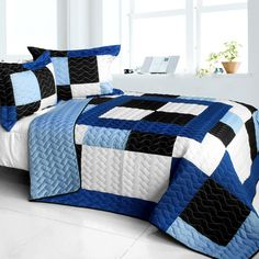 Magic Road Quilt Set (Full/Queen Size)
