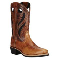 Ariat Heritage Roughstock Venttek Western Boots for Men -