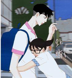 Spirit finger kijeon nam pup hug by baeblue Spirit Fingers Webtoon, I Love Yoo Webtoon, Manhwa Manga, Character Illustration, Shoujo, Fan Art, Cartoon, Wallpaper, My Love