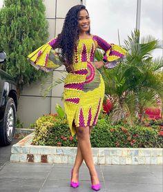 African Fashion Ankara, Latest African Fashion Dresses, African Inspired Fashion, African Dresses For Women, African Print Dresses, African Print Fashion, Africa Fashion, African Attire, African Clothes