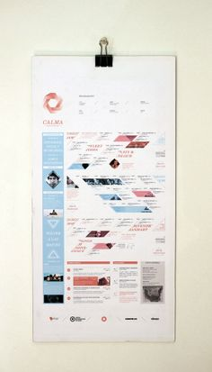 CALMA - Festival de Musica Folk by Estudio Tricota , via Behance