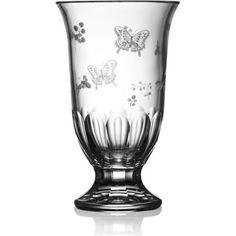 Springtime Clear Footed Vase 12