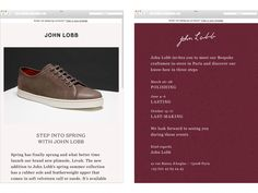 A Practice for Everyday Life – Visual identity for John Lobb