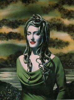 Meduse,Pierre et Gilles / Madame Gorgon / The Borderline Narcissist Mother / Embodied <3