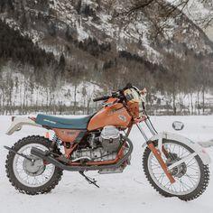 : @motorrausch : @endurology / @vittorioveggetti #snowquake #motorrausch #motoguzzi #enduro #deusexmachina #deusportal #sideburnmag #icering #motorcycle #motorbike #thedsr #deusswankrally #scrambler #custombike #racing #spikes #wintertime #winter #snow #motorrad #custombikes #vintage #oldschool via ✨ @padgram ✨(http://dl.padgram.com)