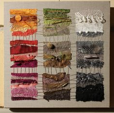 New Embroidery Art Abstract Textile Artists 51 Ideas Art Fibres Textiles, Textile Fiber Art, Textile Artists, Fabric Art, Fabric Crafts, Quilt Inspiration, Sculpture Textile, Art Du Fil, Creative Textiles