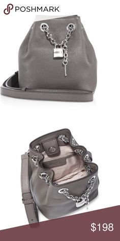 Brand new Michael Michael Kors bag 100% authentic Michael Michael Kors leather cross-body bag . Brand new with tag . Never been used, super adorable ! MICHAEL Michael Kors Bags Crossbody Bags