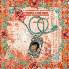 A little commemorative page for my mom. Echoes of Courage from Viva Artistry, available at SBG here: http://shop.scrapbookgraphics.com/Echoes-of-Courage-Collection.html