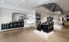 Old and New Bond Street are thought to have the highest density of high fashion stores anywhere in the world. Now, the west London microcosm can add luxury German luggage company Rimowa to its list of extravagant residents. The ribbons were cut last ni...
