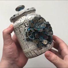 Diy Crafts For Home Decor, Fun Diy Crafts, Diy Arts And Crafts, Recycled Crafts, Creative Crafts, Glass Bottle Crafts, Diy Bottle, Bottle Art, Steampunk Diy