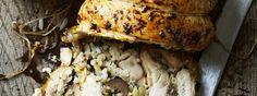 De boned Whole Chicken 1157 Stuffed Roast Chicken Recipe | Gordon Ramsay Recipes