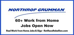 Work from Home Jobs - 60+ at Northrop Grumman Open Now