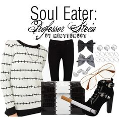 """""""Soul Eater: Professor Stein"""" my absolute favorite character from soul eater :) i love casual cosplay .:*♡(*º╰╯º*)♡:*."""