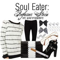 """Soul Eater: Professor Stein"" by mintyghost on Polyvore"