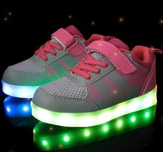 Trend Mark Dinoskulls Children Shoes Light Up Mesh Baby Boys Sneakers Breathable Led Glowing Toddler Running Shoes 2019 Spring Trainers Sneakers