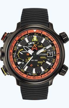 Citizen Eco-Drive Promaster Altichron BN5035-02F Altimeter
