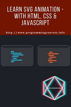 Learn - With HTML, CSS & JavaScript. Learn how these powerful animation are created using , & Web Design Trends, Web Design Quotes, Web Design Tips, Ui Design, Graphic Design, Svg Animation, Animation Tutorial, Web Design Tutorial, Learn Html