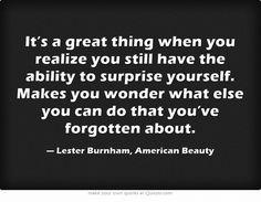Lester Burnham//