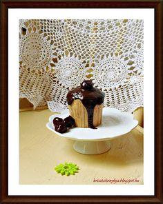 Kriszta konyhája- Sütni,főzni bárki tud!: Meggyes-mákos mini torta ( paleo )