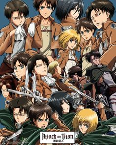 Attack On Titan - Collage - Official Mini Poster. Official Merchandise. FREE SHIPPING