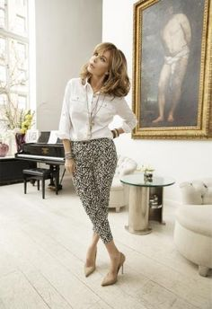 What Great Style Looks Like at Every Age | MORE Magazine. Jaclyn Smith, 67!
