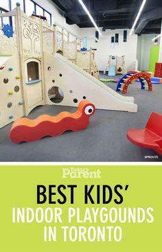 10 best indoor playgrounds in Toronto