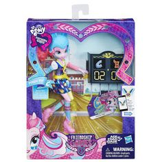 MLP Equestria Girls Friendship Games Sporty Style Deluxe Pinkie Pie Doll