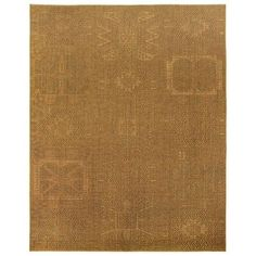 Due Process Stable Trading Sisal de Tapis Channing Barley Area Rug, 4 x 6 ft., As Shown