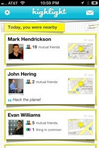 New app that's a new take on foursquare focused on connecting people with similar interests & likes - no check ins needed!