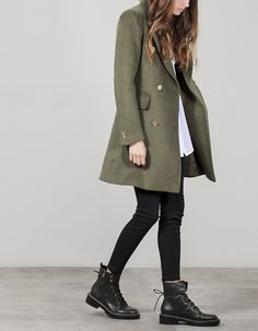 how to put outfits together Fall Winter Outfits, Winter Fashion, Edgy Outfits, Fashion Outfits, Dr Martens Outfit, Dr Martens Style, Combat Boot Outfits, Looks Plus Size, Looks Black