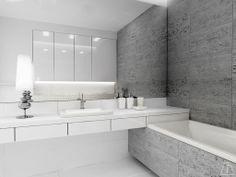 Bathroom, made by Marta Adamczyk.