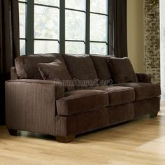Chocolate Brown Living Room Queen Sofa Sleeper Couch by Famous Brand Furniture, http://www.amazon.com/dp/B005JEEYQI/ref=cm_sw_r_pi_dp_vgabrb08D8CXS