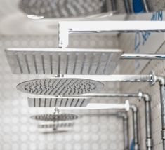 A showerhead is more than just functional, get something stylish for your bathroom. Our range of showerheads include rainfall and water saving options. Shower Bathroom, Save Water, Shower Heads, Design Trends, Showers, Range, Stylish, Home, Rain Shower Bathroom