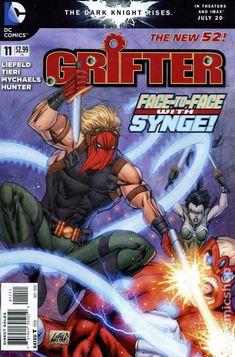 Grifter (2011 DC) 11 DC Comics Comic Book Cover