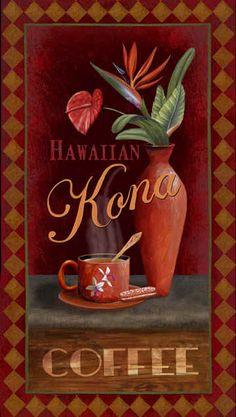 """Kona Coffee"" / Thomas Wood"