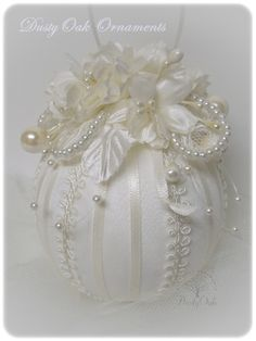Custom wedding keepsake made from the bridal gown
