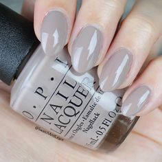 OPI Icelanded a Bottle of OPI Swatch OPI Iceland Collection Swatches